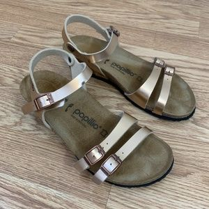 Birkenstock Papillio Vegan Wedge Sandals Size 39N
